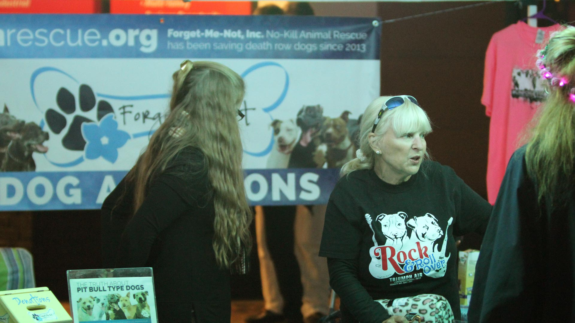 Rock N Roll Over fundraising event to raise money to care for our dogs at Forget-Me-Not Inc..